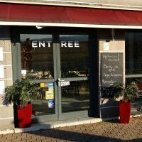 Entrée du restaurant (par la route de Strasbourg)